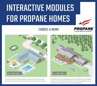 Interactive Modules for Propane Homes