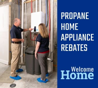 Propane Home Appliance Rebates
